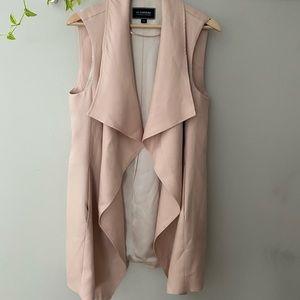 Le Chateau flowy vest, pink, medium